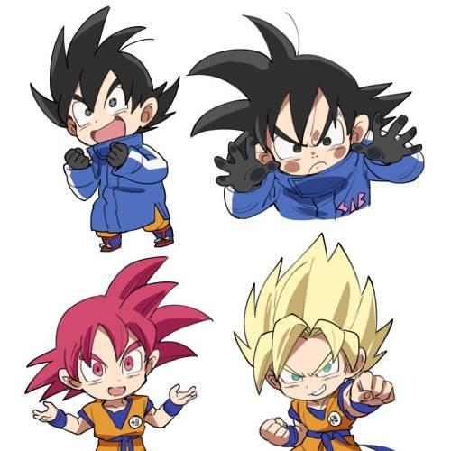 Dragon Ball Goku Chibi