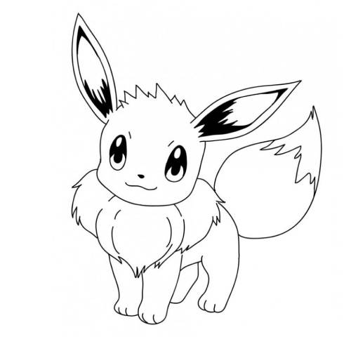 Eevee Pokemon kawaii min