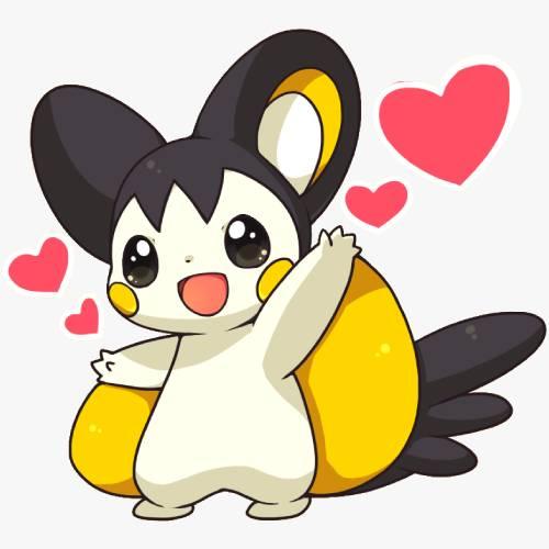Emolga Pokemon Cute Kawaii min