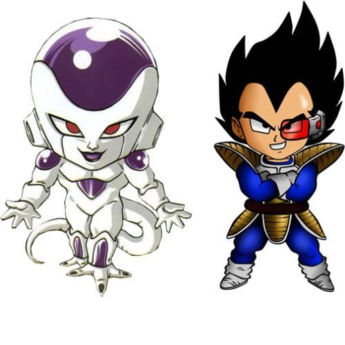 Freezer Vegeta Chibi Dragon Ball