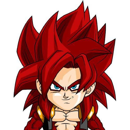 Gogeta Dragon Ball GT kawaii
