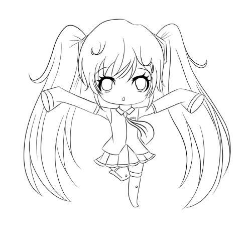 Hatsune Miku Pose min