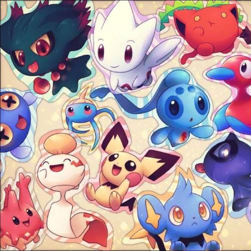 Pokemon kawaii stickers min