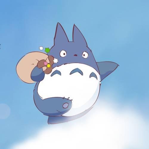 Totoro Cielo Kawaii min