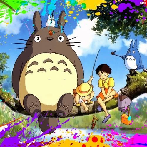 Totoro Colour Explosion min