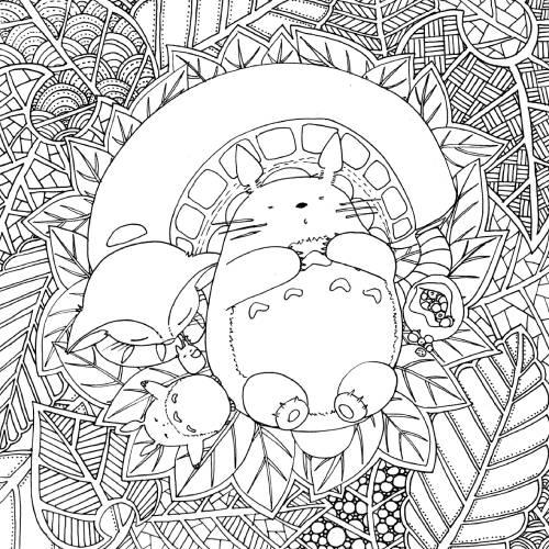 Totoro Mandala