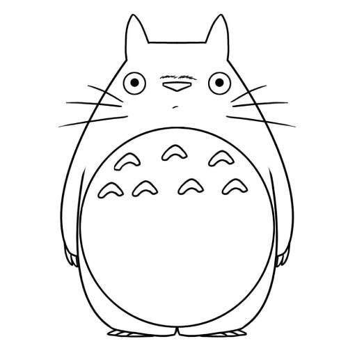 Totoro alone kawaii