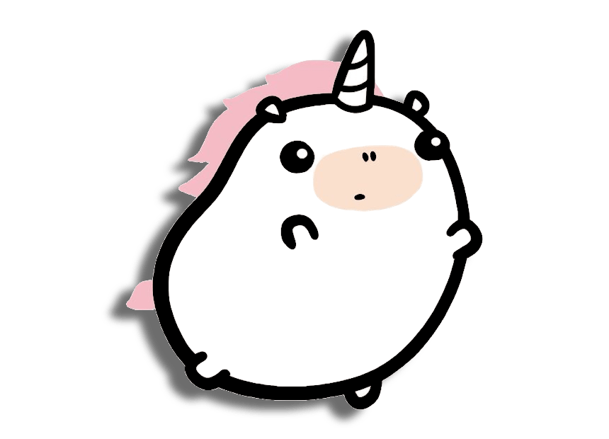 dibujos unicornios kawaii