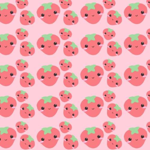 fresas wallpaper kawaii pc