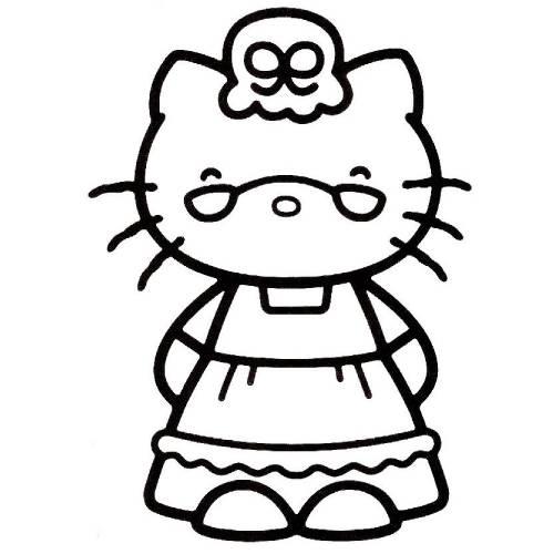 hello kitty abuela kawaii
