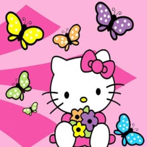 hello kitty butterlfy kawaii