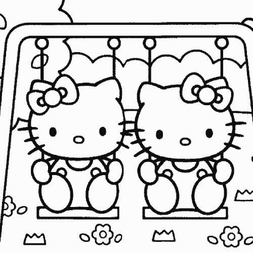 parque infantil hello kitty kawaii