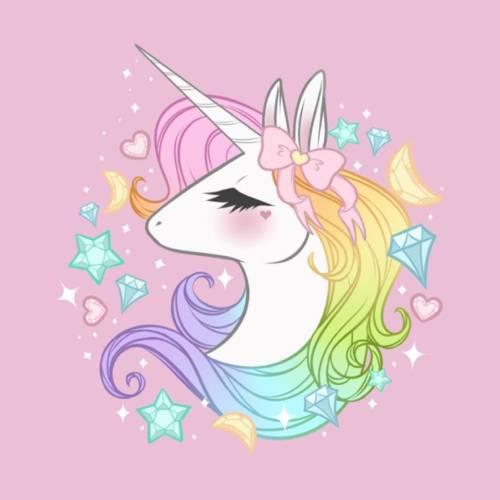 unicornio kawaii lazo