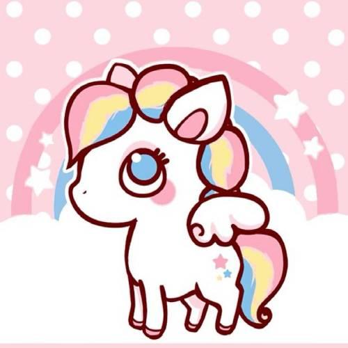 little unicornio kawaii