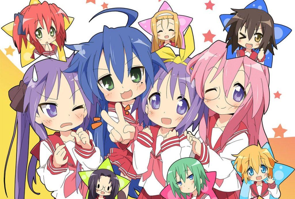 Lucky Star Anime Kawaii