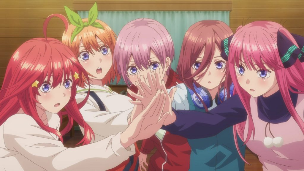 Quintessential Quintuplets Anime Kawaii