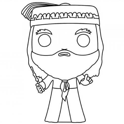 Albus Dumbledore kawaii