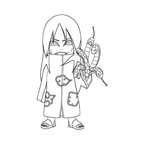 Orochimaru kawaii