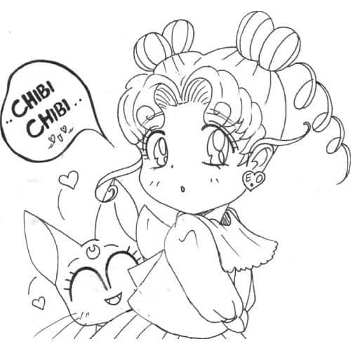 Sailor Moon Chibi Cool