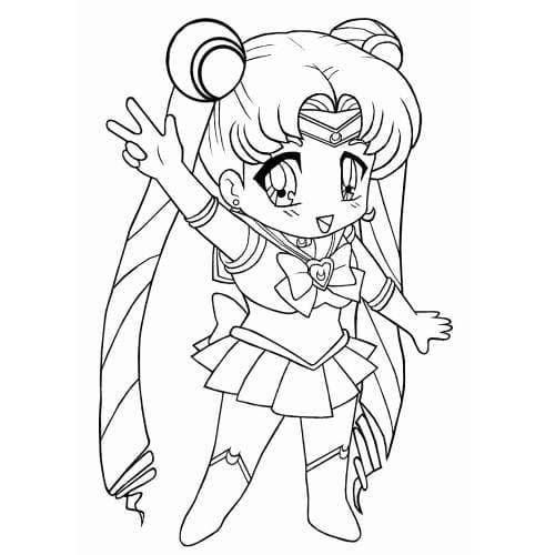 Sailor Moon Chibi Little