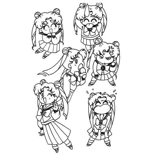 Sailor Moon Luna Emos