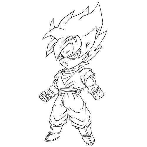 Son Goku Chibi kawaii